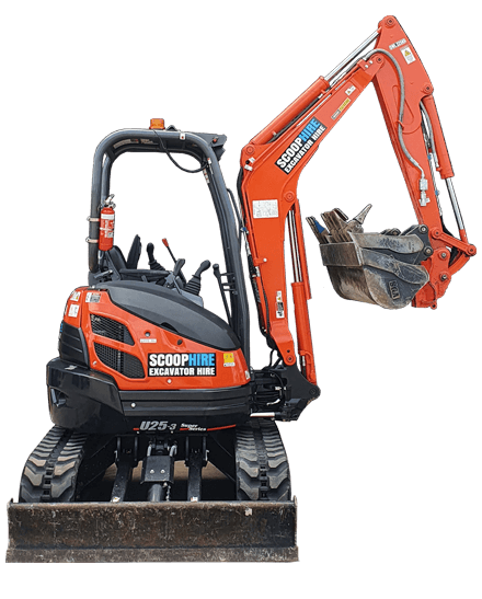 Mini Excavator Rental Melbourne
